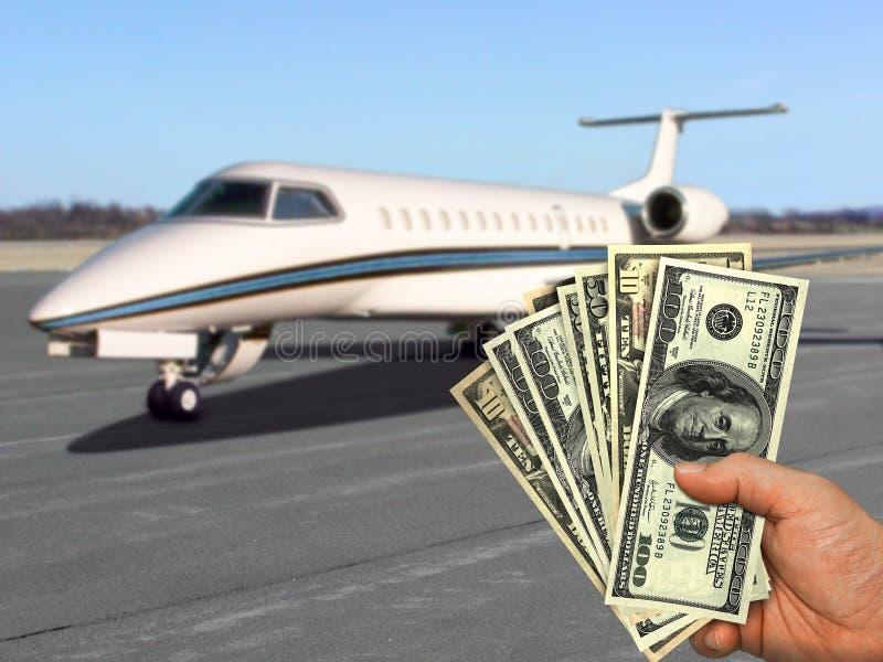 Su dinero, su sueño foto de archivo