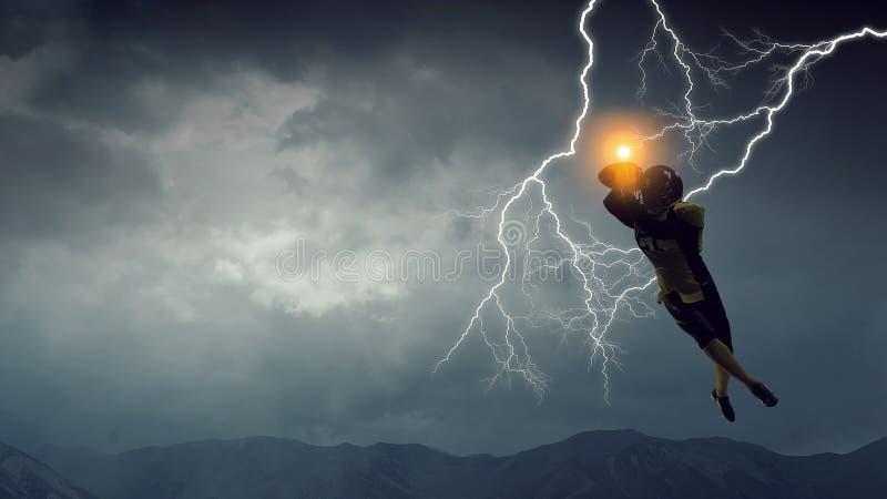 Su energía sin fin Técnicas mixtas fotos de archivo