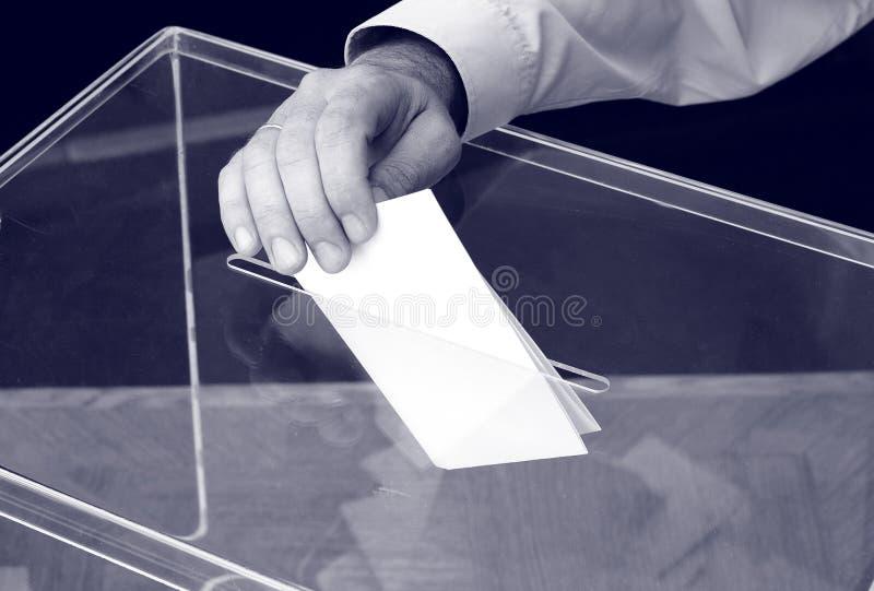 Su hora para las elecciones fotos de archivo