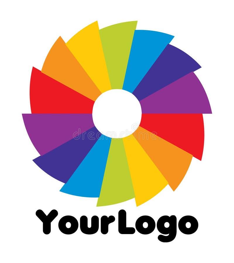 Su insignia stock de ilustración