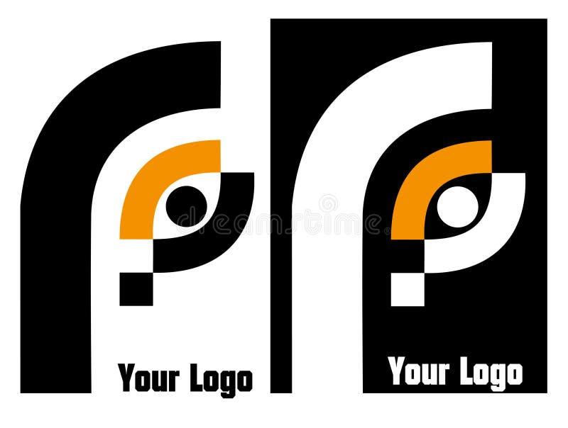 Su insignia de la compañía ilustración del vector