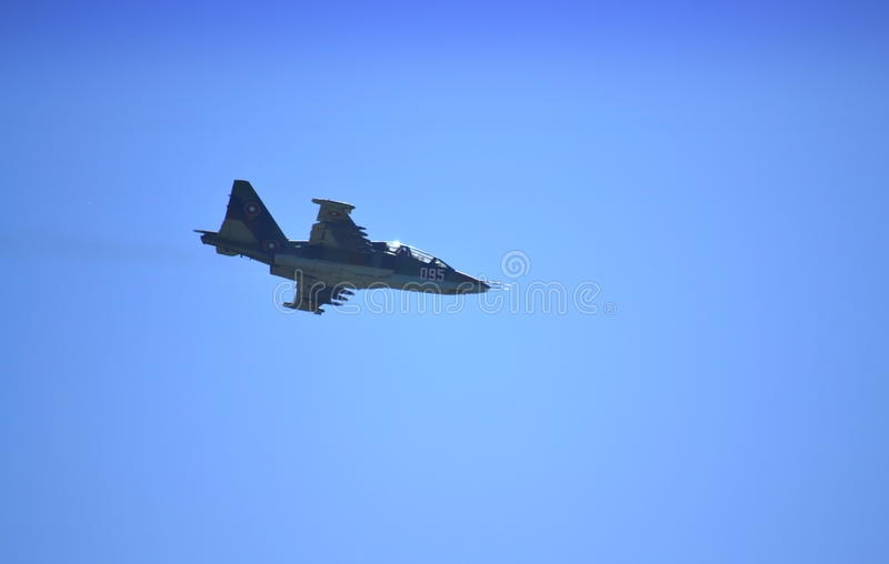 Su-25K fighter stock images