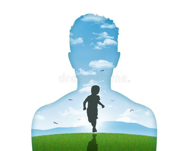 Su niño interno libre illustration