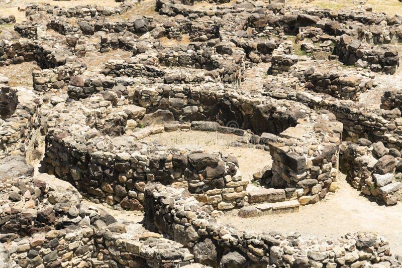 Su Nuraxi Sardinia stock images
