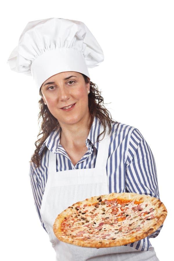 Su pizza italiana sabrosa imágenes de archivo libres de regalías