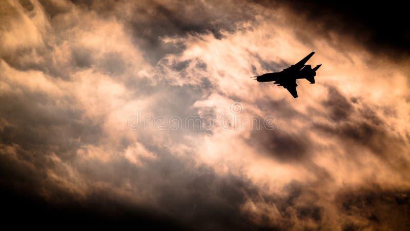 Su-22 - Poolse Luchtmacht royalty-vrije stock afbeeldingen