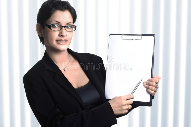 Su secretaria fotos de archivo