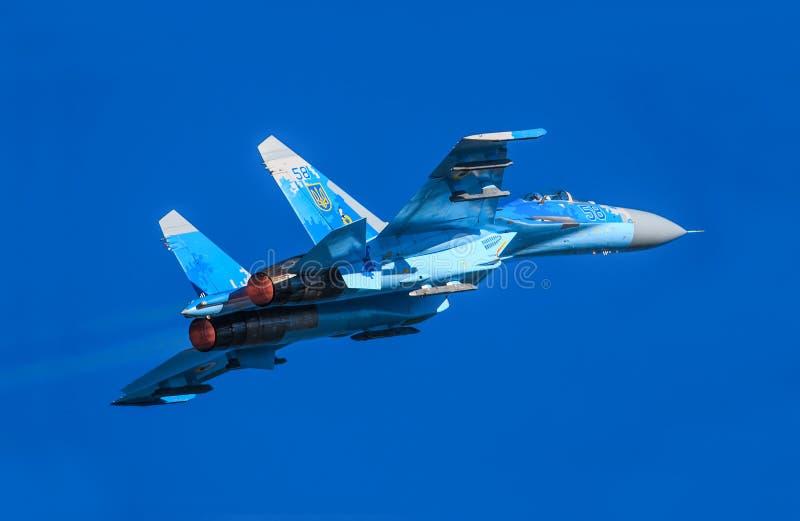 Su-27 Sukhoi fotografia stock