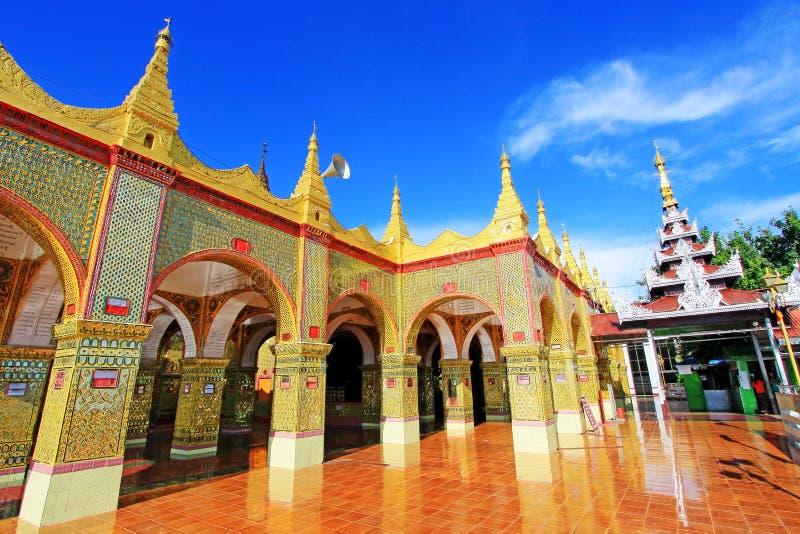 Su Taung Pyai Pagoda, Mandalay, Myanmar. The Su Taung Pyai Pagoda is located on the top of the Mandalay Hill. It was built by King Anawratha in 414 Myanmar Era royalty free stock photo