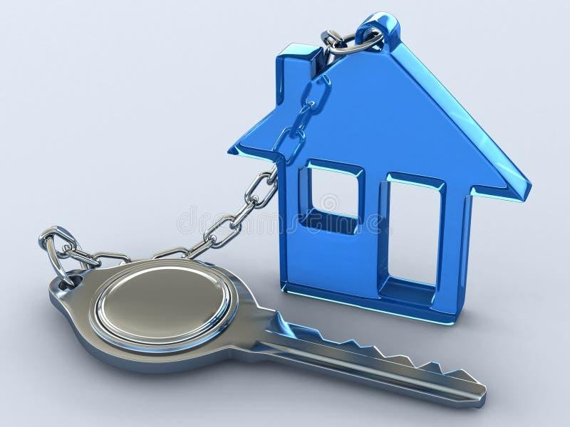 Sua casa ideal ilustração royalty free