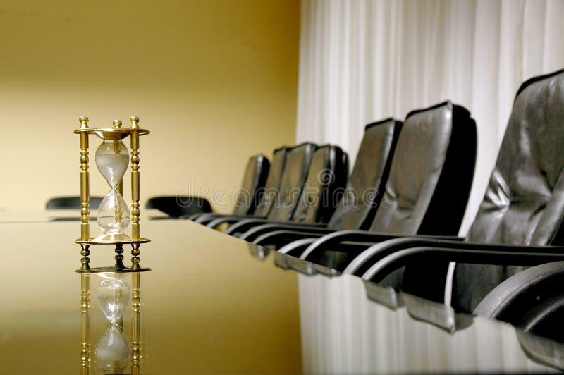 Sua hora para a reunião de negócio fotografia de stock royalty free