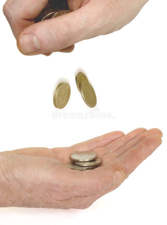 Download Sua mudança imagem de stock. Imagem de mudança, moedas - 102943