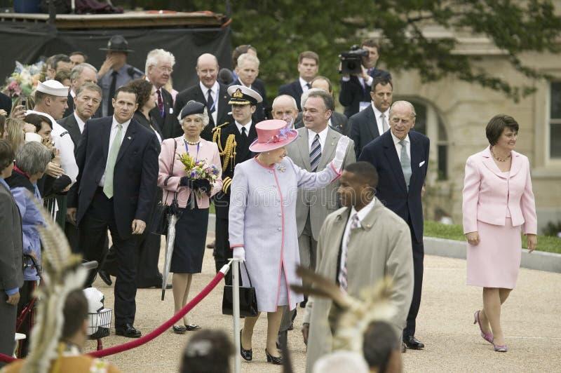 Sua rainha Elizabeth II da majestade, imagens de stock