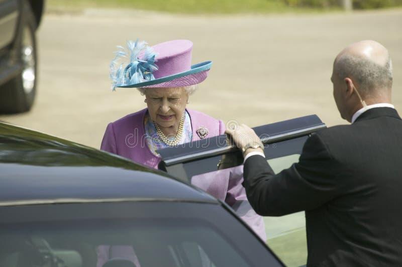 Sua rainha Elizabeth II da majestade mim fotos de stock