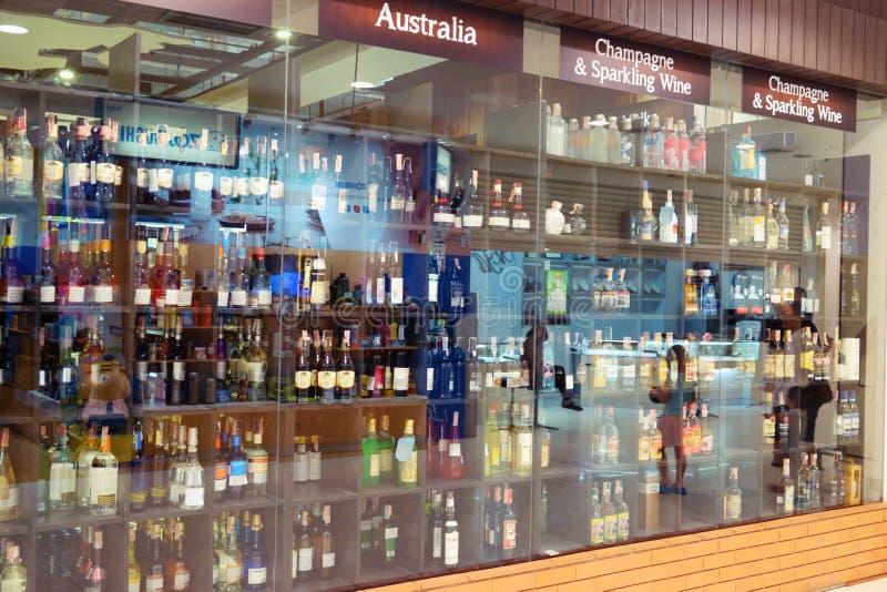 Suan luang Tailândia 17 de novembro de 2018 loja alcoólica fotos de stock royalty free