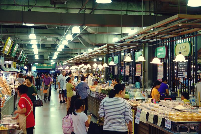 Suan luang Tailândia shopping do 13 de novembro de 2018 em Banguecoque imagens de stock