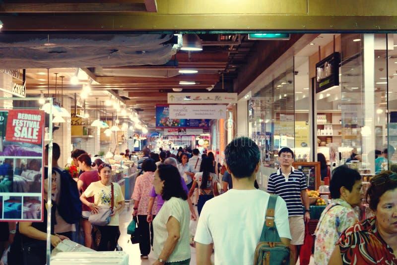 Suan luang thailand 13 november 2018 shopping mall in bangkok. Food court royalty free stock image
