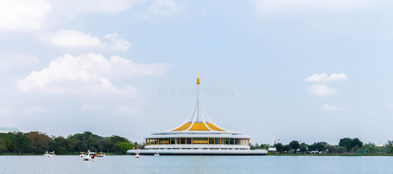 Suanluang RAMA9 imagen de archivo libre de regalías