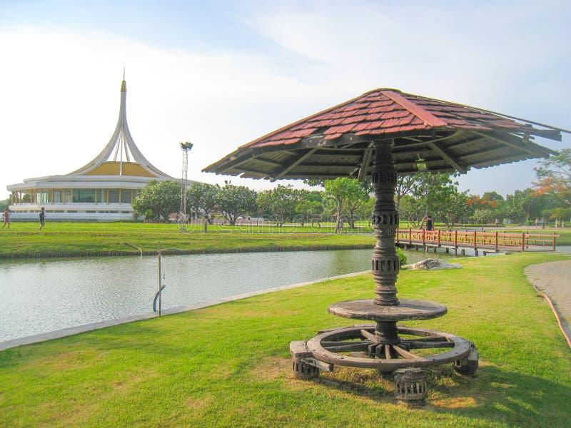 Suanluang RAMA IX公园,泰国 免版税库存照片