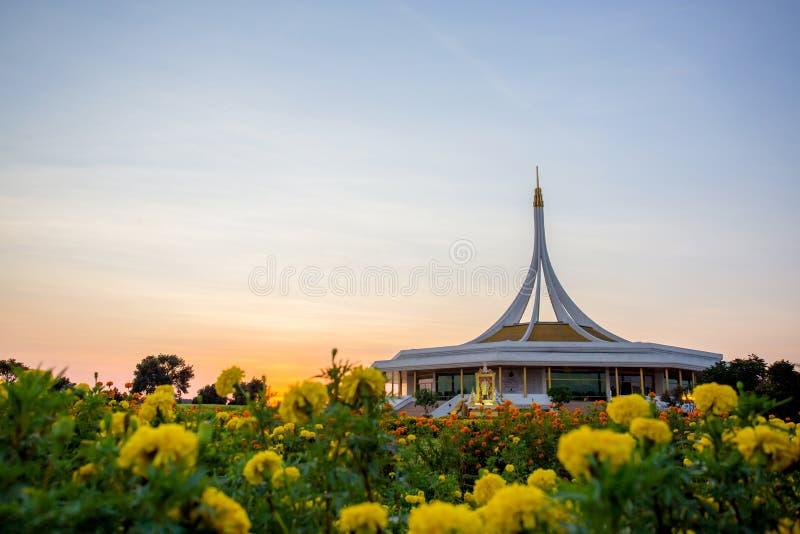 Suanluang RAMA IX Park. In Thailand royalty free stock photos