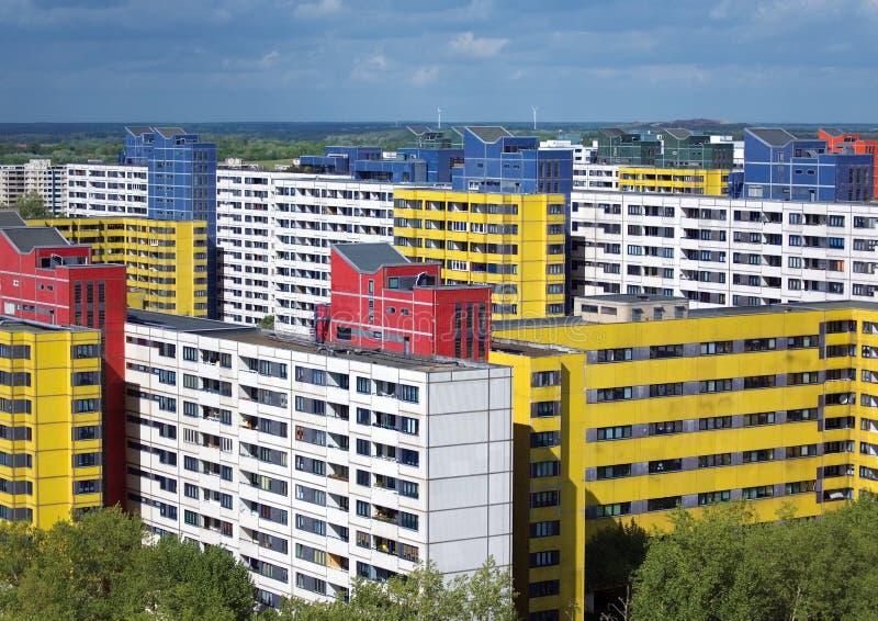 Subúrbio de Berlim imagens de stock