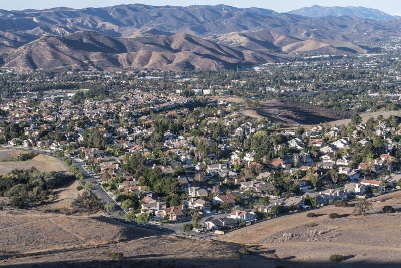 Subúrbios de Los Angeles-area fotografia de stock royalty free
