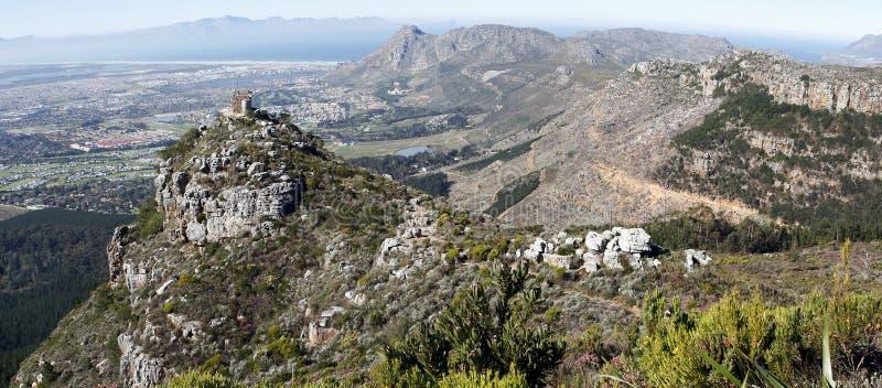 Subúrbios do sul de Cape Town fotografia de stock