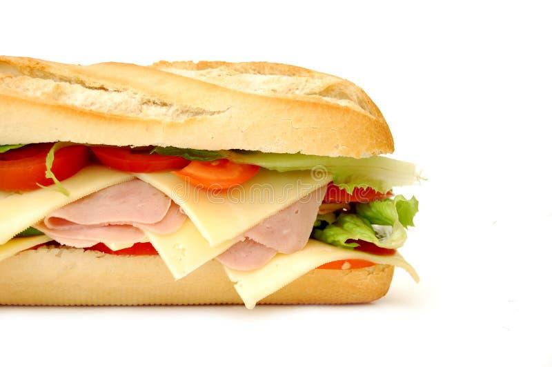 Sub sandwich royalty-vrije stock afbeeldingen