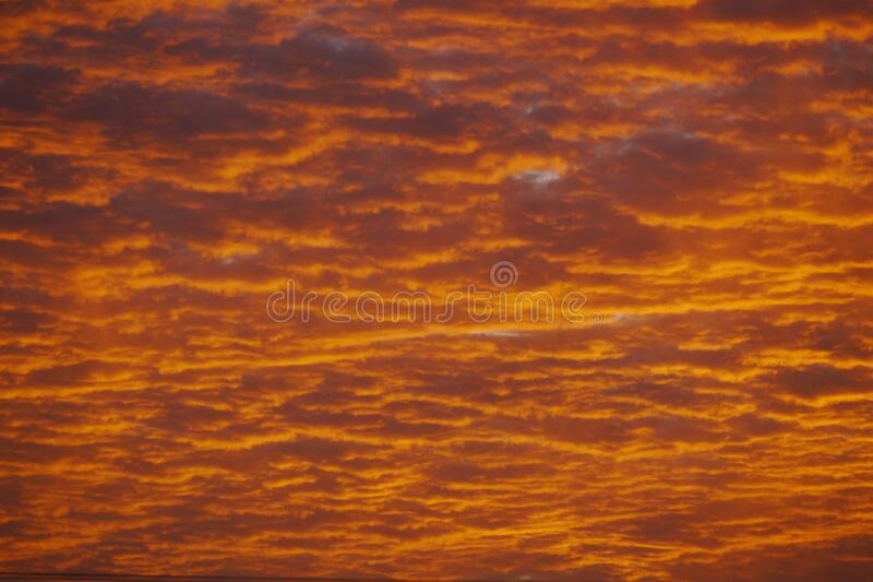 A Brazilian sub tropical skies background stock photography