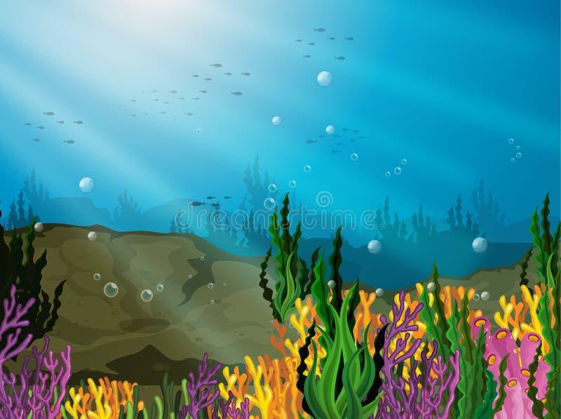 subacqueo royalty illustrazione gratis