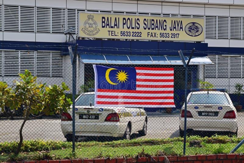Subang Jaya Police Station royaltyfria bilder