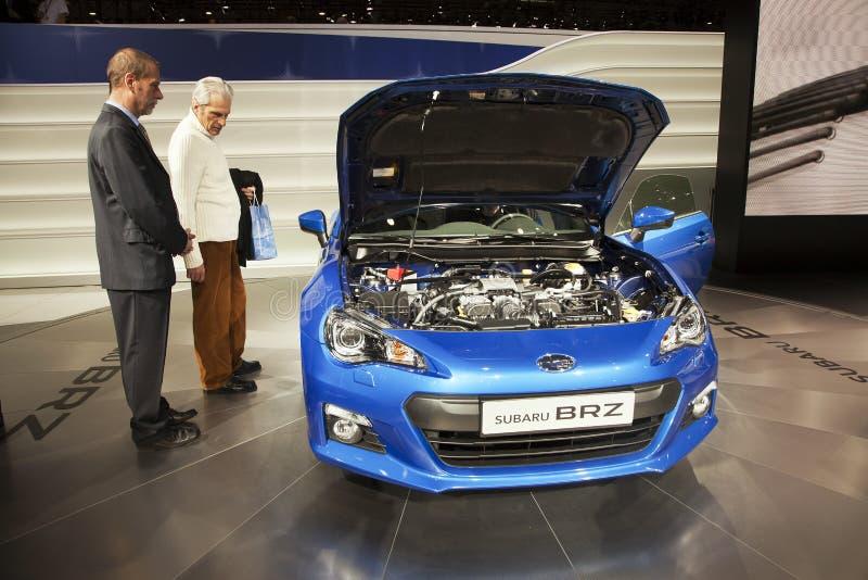 Subaru BRZ stock images