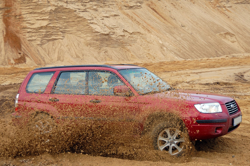 Subaru Forester stock images