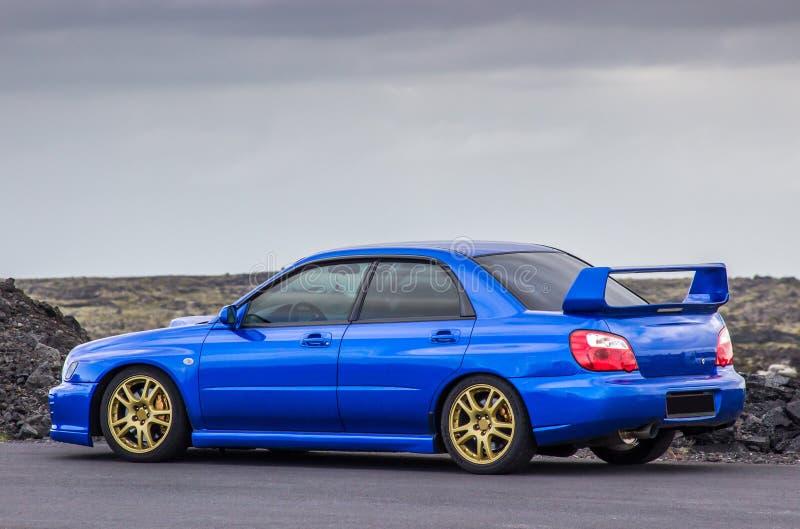 Subaru Impreza foto de archivo libre de regalías