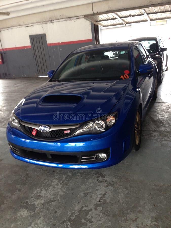 Subaru Impreza στοκ φωτογραφία