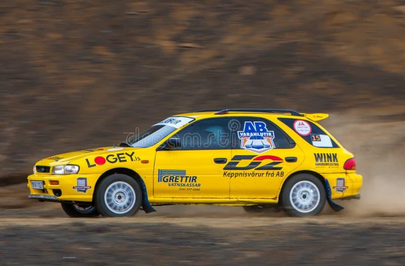 Subaru Impreza GL fotos de archivo libres de regalías