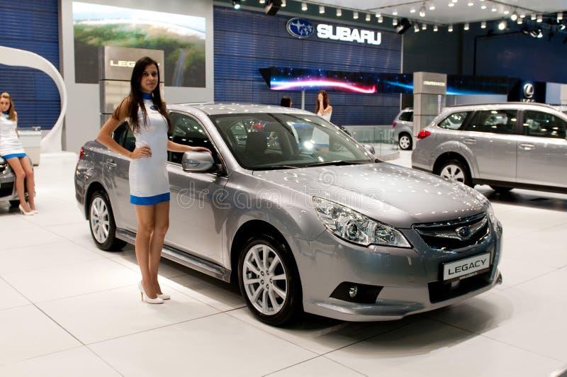Subaru Legacy lizenzfreie stockbilder
