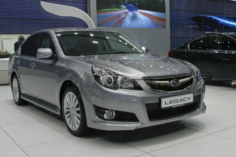Subaru Legacy stockfotos