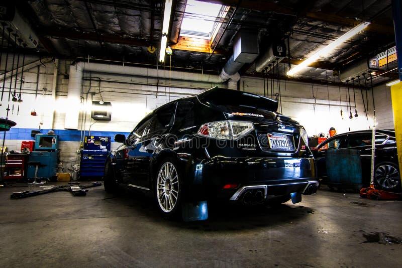 Subaru-STI royalty-vrije stock foto's
