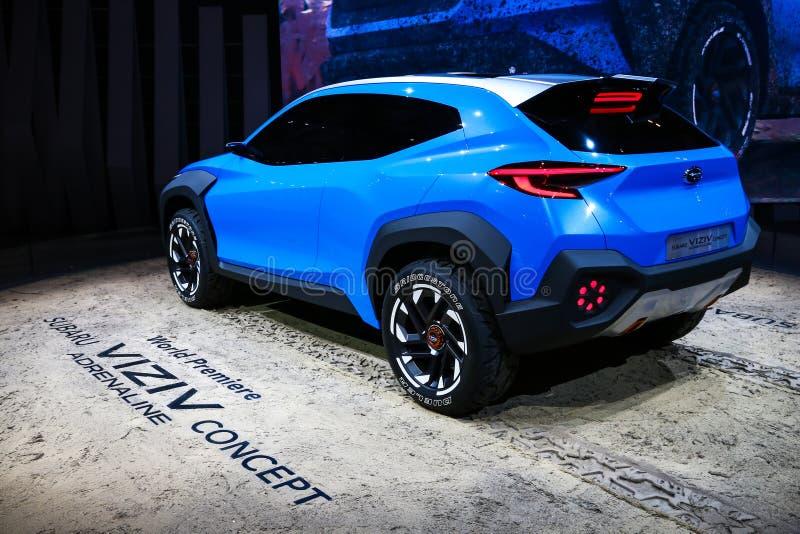Subaru Viziv adrenalin royaltyfri foto