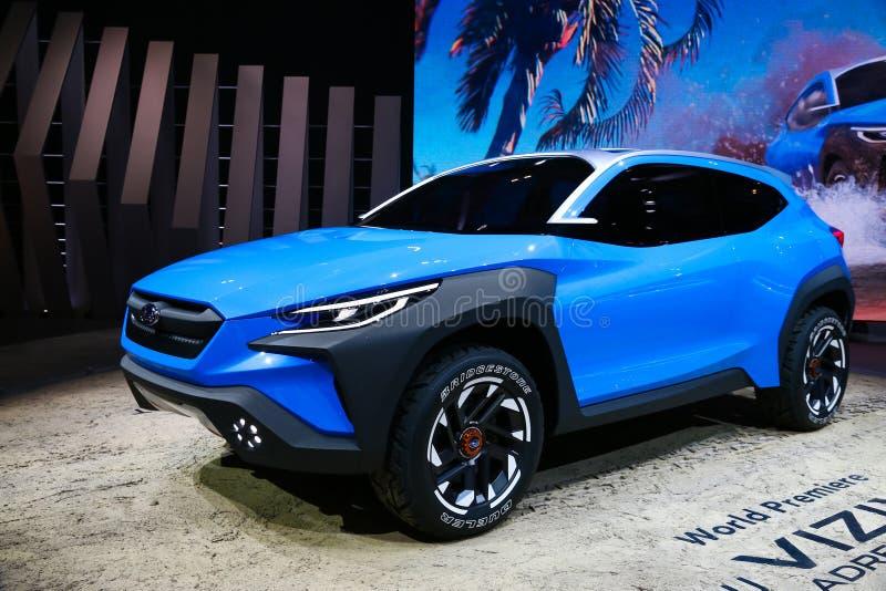 Subaru Viziv adrenalin royaltyfria foton