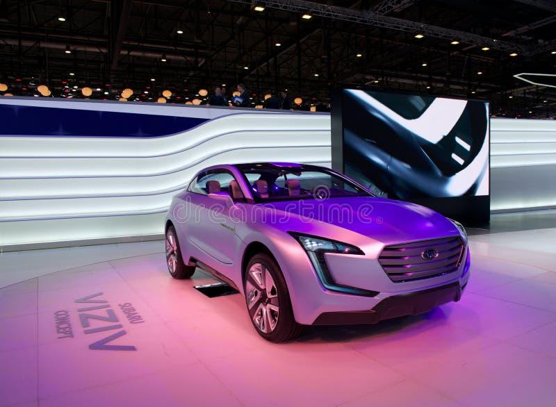 Download Subaru Viziv concept editorial image. Image of power - 29690990