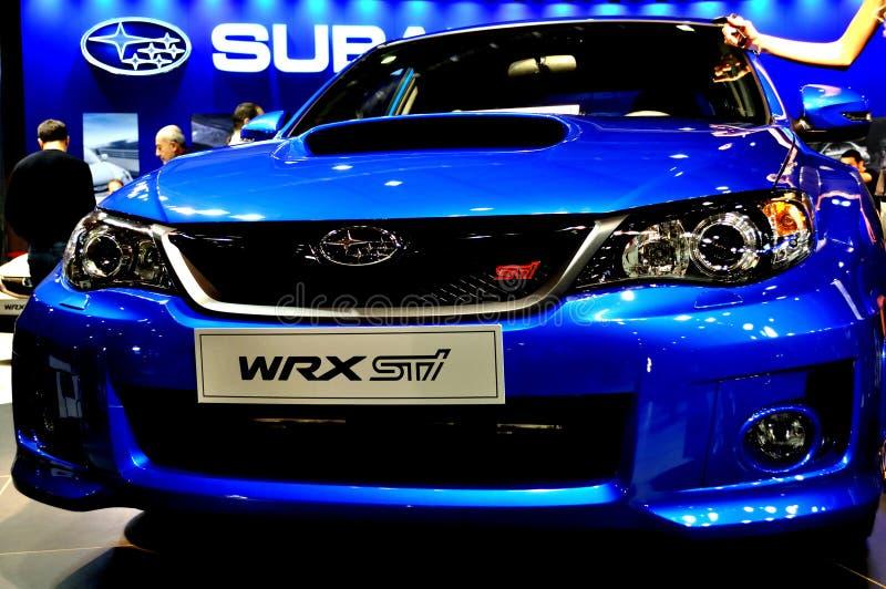 Subaru WRX royalty free stock photo