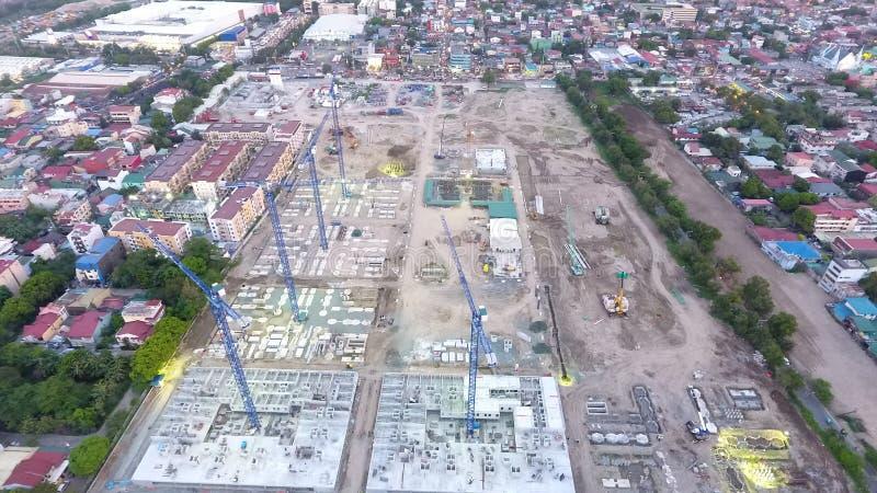Subdivis?o grandioso de Ciudad do local do desenvolvimento da constru??o foto de stock