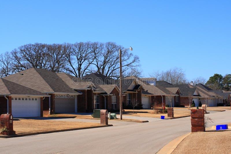 Subdivision résidentielle du Texas photos libres de droits