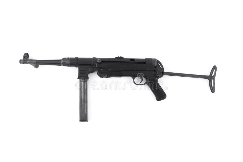 Subfusil ametrallador del alemán MP40 fotos de archivo