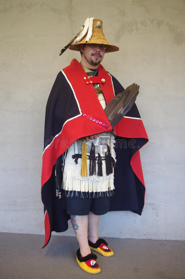 Coast Salish peoples stock image