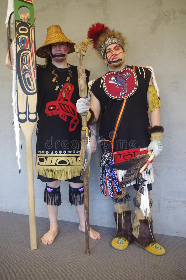 Coast Salish peoples stock photography