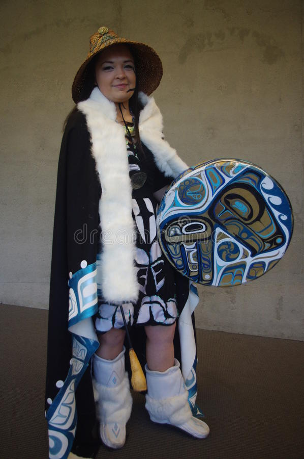 Coast Salish peoples royalty free stock photos