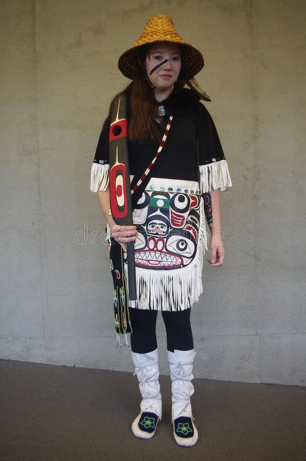 Coast Salish peoples stock photography